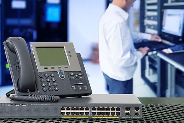 service pour systèmes téléphoniques